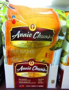 Annies Sesame Snacks